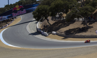 The Laguna Seca circuit