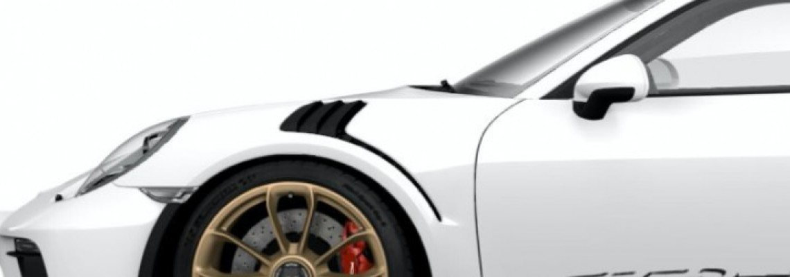 Special services - Repair of front fender PORSCHE 911 GT3 RS