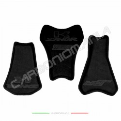 Racing saddle in self-adhesive neoprene for Aprilia fairing seat in fiberglass or carbon