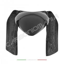 Front mudguard with carbon fiber aprons Aprilia DORSODURO SMV 750 900 1200 Performance Quality