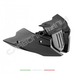 Aprilia DORSODURO SMV 750 900 1200 Performance Quality engine guard in carbon fiber