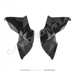 Aprilia DORSODURO SMV 750 900 1200 Performance Quality carbon fiber tank side panels