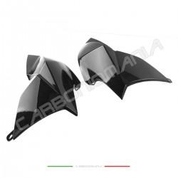 Aprilia DORSODURO SMV 750 900 1200 Performance Quality carbon fiber tank side panels