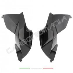 Tank side panels in carbon fiber Aprilia DORSODURO SMV 1200 Performance Quality