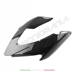 Rear tailpipe cover in carbon fiber Aprilia DORSODURO SMV 750 900 1200 Performance Quality