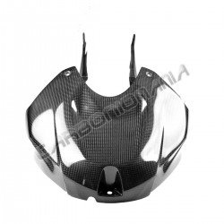 Airbox cover with carbon tank side panels for BMW S 1000 RR 2015 2018