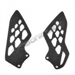 Carbon heel guards BMW S 1000 RR 2009 2018 Performance Quality
