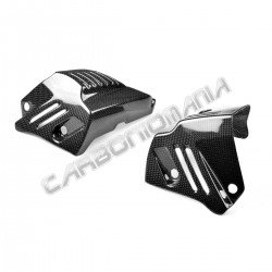 Carbon fiber cylinder head protection cover BMW R NINE T 2014 2018 Performance Quality