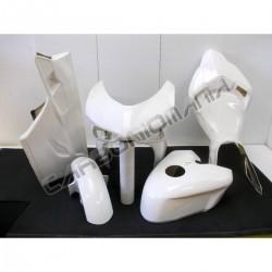 Glass resin racing motorcycle fairing for Ducati 848 1098 1198  versione SBK