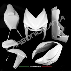 Glass resin racing motorcycle fairing for MV Agusta F3