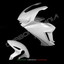 Complete racing fairing in fiberglass fabric Honda CBR 1000 RR 2017 2018 Performance Quality