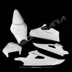 Carena racing completa in tessuto di vetroresina Yamaha R6 2006 2007 Performance Quality