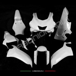 Complete racing fairing in fiberglass fabric Yamaha R6 2017 Performance Quality