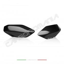 Tank side guards glossy carbon Ducati PANIGALE V4 / V4S / V4R (Strauss Line)