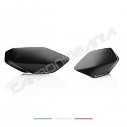 Matt carbon tank side sliders Ducati PANIGALE V4 / V4S / V4R (Strauss Line)