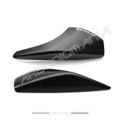 Glossy carbon tail sliders protectors Ducati PANIGALE V4 / V4S / V4R (Strauss Line)