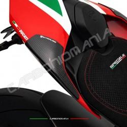 Matt carbon tail sliders protectors Ducati PANIGALE V4 / V4S / V4R (Strauss Line)