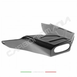 Carbon fiber silencer cover for Ducati 749 999 2003 2006
