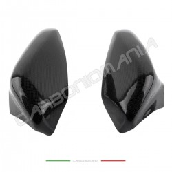 Carbon tank cover side protections Ducati 848 1098 1198
