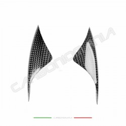 Carbon fiber side protection sliders for Ducati 899 1199 PANIGALE