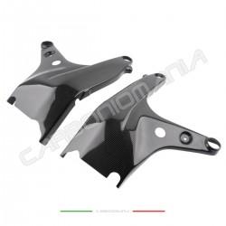 Carbon fiber frame protectors Ducati PANIGALE V4 / V4S / V4R