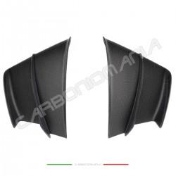 Winglets alette aerodinamiche in fibra di carbonio opaco per carene Ducati PANIGALE V4 V4R Performance Quality