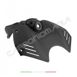 Tank cover with key block in matt carbon fiber Ducati PANIGALE V4 Performance Quality