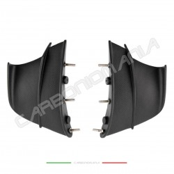 Aerodynamic wing deflectors in matt carbon fiber Ducati PANIGALE V4R Performance Quality