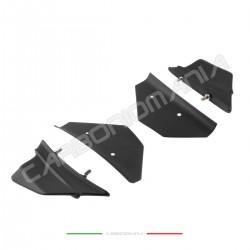 Aerodynamic wing deflectors in matt carbon fiber Ducati PANIGALE V4 / V4S Performance Quality