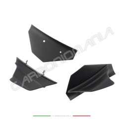 Aerodynamic wing deflectors in matt carbon fiber Ducati PANIGALE V4 / V4S Performance Quality