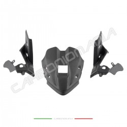 Matte carbon fiber front fairing instrument cover Ducati PANIGALE V4 / V4S / V4R Performance Quality