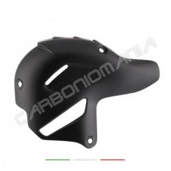Akrapovic exhaust heat shield in matt carbon fiber Ducati Panigale V4 / V4S / V4R Performance Quality