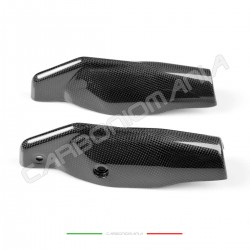 Fork protectors in carbon fiber for Ducati Hypermotard 796 1100 Performance Quality