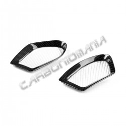 Carbon air intake covers Ducati Monster 696 796 1100 Performance Quality