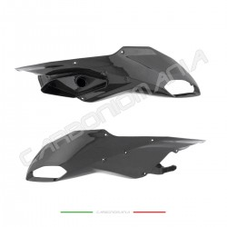 Carbon front beak front air intakes Ducati Multistrada Performance Quality