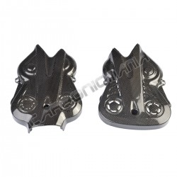 Carbon fiber belt covers for Ducati Diavel 2010 2013 Performance Quality