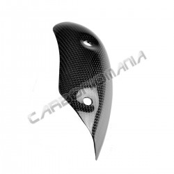 Carbon exhaust collector protection Ducati Diavel 2010 2013 Performance Quality