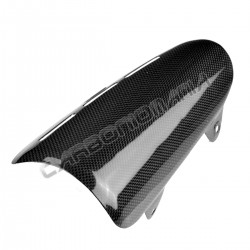 Carbon exhaust protection Ducati Diavel 2010 2013 Performance Quality