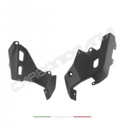 Matt carbon side skid plate Ducati Multistrada 950 1200 1260 DVT/Enduro Performance Quality