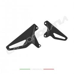 Heel guard in matt carbon fiber Ducati PANIGALE V4 / V4S / V4R Performance Quality