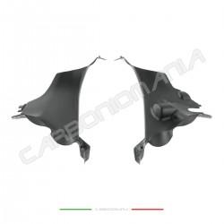 Duct cover in matt carbon fiber Ducati PANIGALE V4 / V4S / V4R Performance Quality