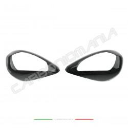 Mirror cover in carbon fiber Ducati PANIGALE V4 / V4S / V4R Performance Quality