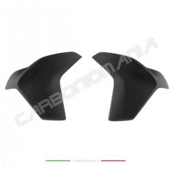 Matt carbon tank side panels deflectors Ducati Multistrada 1200 DVT/Enduro Performance Quality