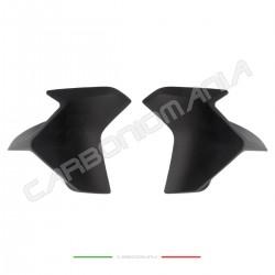 Matt carbon tank side panels deflectors Ducati Multistrada 950/1260  Performance Quality