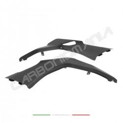 Matt carbon under-saddle side panels Ducati Multistrada 950/1260  Performance Quality