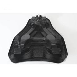 Rear seat cover with rigid buffer in carbon Ducati 848/1098/1198 (FULLSIX Line)