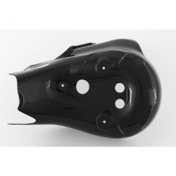 Exhaust manifold protection in carbon Ducati 899/1199 (FULLSIX Line)