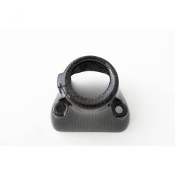 Key lock cover in carbon Ducati Hypermotard 796/1100 (FULLSIX Line)