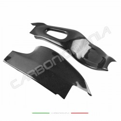 Carbon fiber swingarm cover for Honda CBR 1000 RR 2006 2007