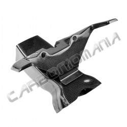 Airbox duct with carbon frame Honda CBR 600 RR 2007 2012